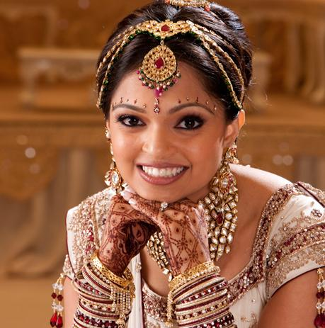 Fantastic Indian Bridal Makeup Indian Bridal Hairstyle Indian Wedding Short Hairstyles For Black Women Fulllsitofus